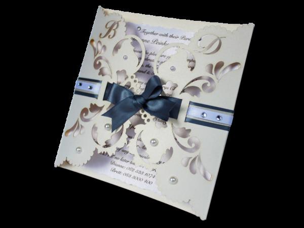 Laser Cut Dianne Wedding Invite