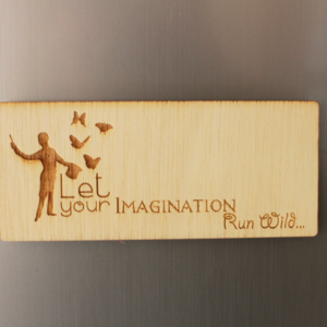 Imagination Fridge Magnet