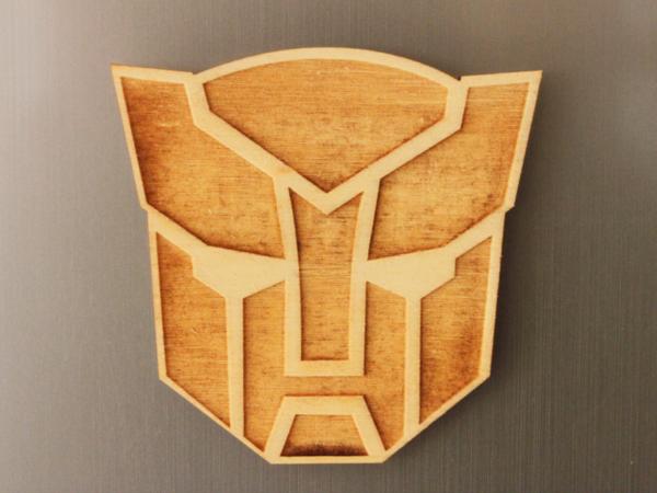 Transformers Fridge Magnet