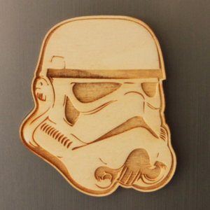 Storm Trooper Fridge Magnet