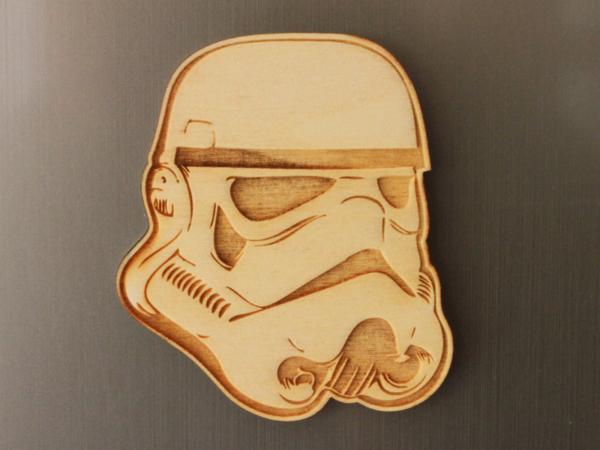 Storm Trooper Fridge Magnet