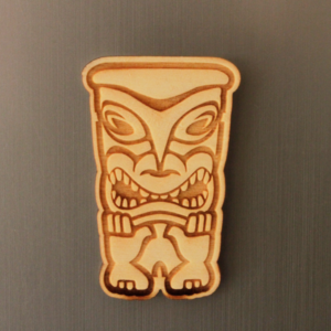 Totem Fridge Magnet