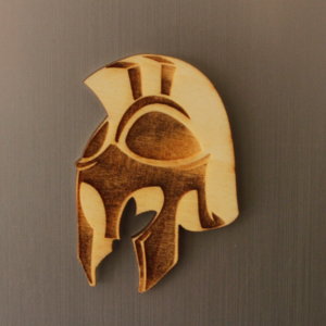 Spartan Fridge Magnet