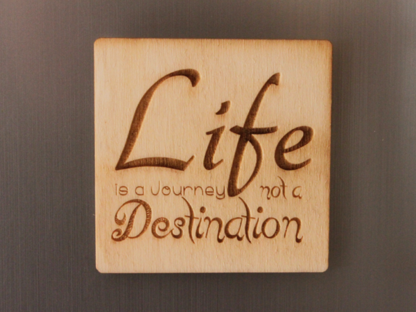 Life Fridge Magnet
