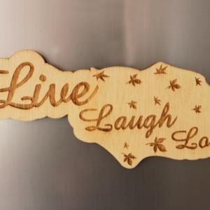 Live Laugh Love V2 Fridge Magnet