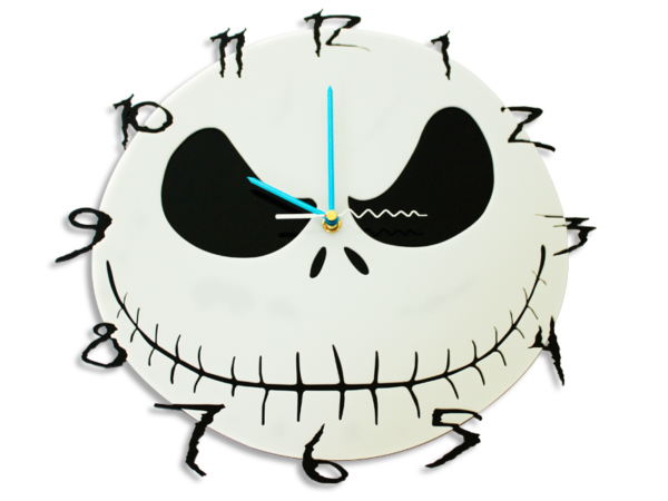 Laser Cut Nightmare Perspex Wall Clock