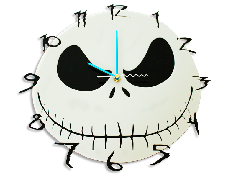 Nightmare Before Christmas Wall Clock