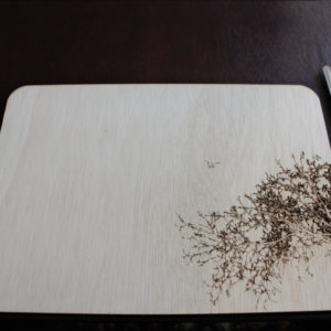 Laser Cut Tree Placemat