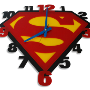 Laser Cut Superman Perspex Wall Clock