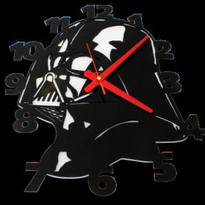 Laser Cut Vader Perspex Wall Clock