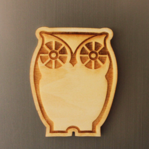 Owl Fridge Magnet
