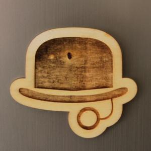 Gentlemen Fridge Magnet