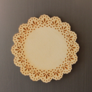 Doily Fridge Magnet