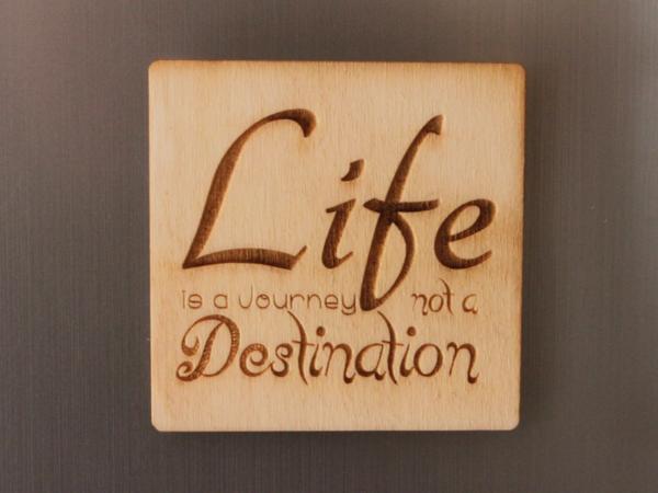 Life Fridge Magnet