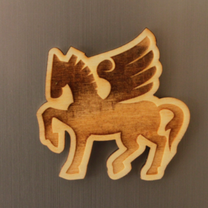 Pegasus Fridge Magnet
