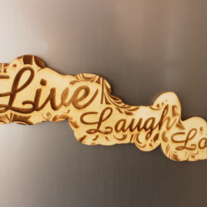 Live Laugh Love Fridge Magnet