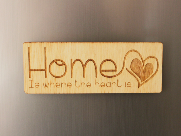 Home Fridge Magnet