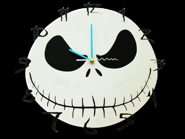 Laser Cut Nightmare Perspex Wall Clock