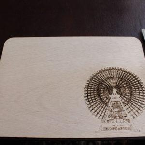 Laser Cut Ferris Wheel Placemat