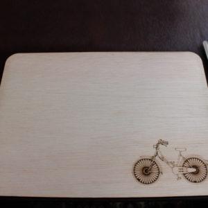 Laser Cut Bicycle Placemat