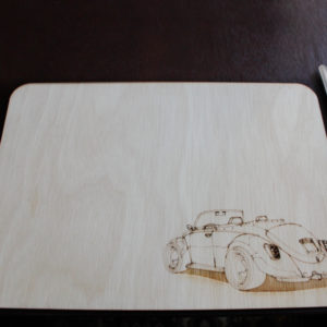 Laser Cut Buggy Placemat