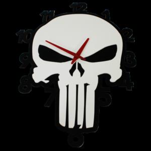 Laser Cut Punisher Perspex Wall Clock