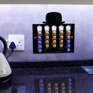 Laser Cut Muzzy Coffee Pod Holder